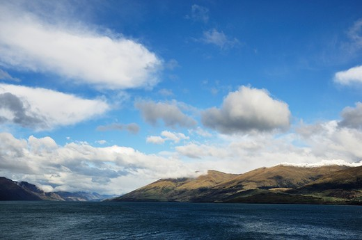 Stock Photo: 1828R-75450 Lake Wanaka, Otago, South Island, New Zealand