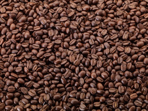 Mountain Gems Blend Coffee Beans : Stock Photo