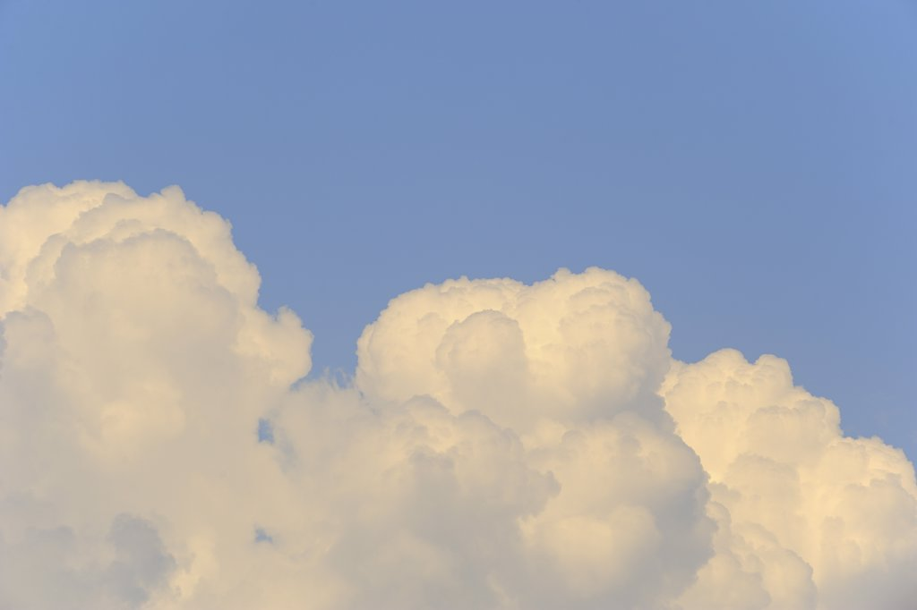 Clouds in the Sky, Bavaria, Germany : Stock Photo