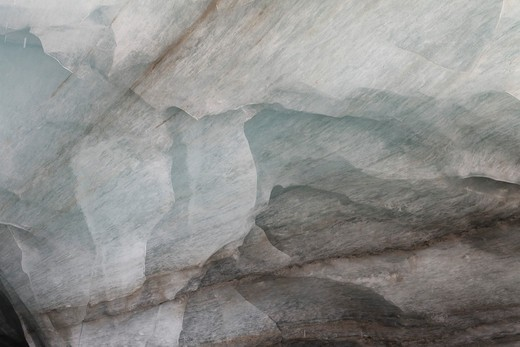 Close-up of Glacial Ice, Switzerland : Stock Photo