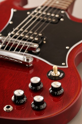 Stock Photo: 1828R-79519 Electric Guitar