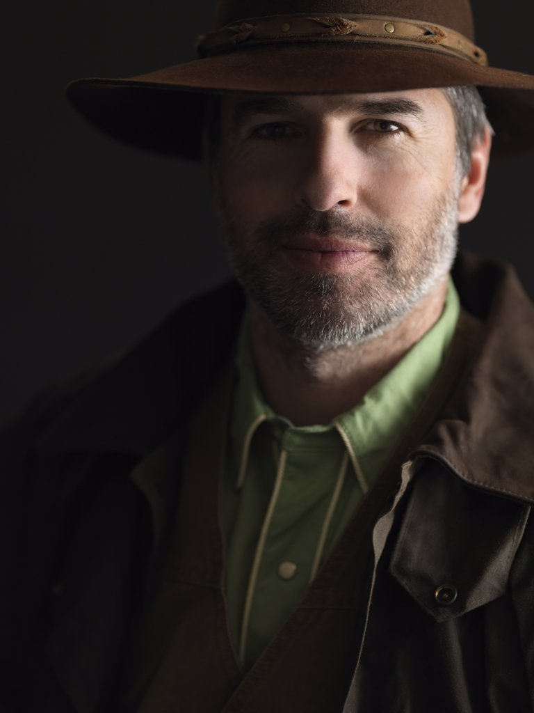Stock Photo: 1828R-79722 Portrait of Cowboy