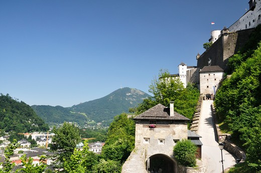 Stock Photo: 1828R-79941 Hohensalzburg Castle, Salzburg, Salzburger Land , Austria