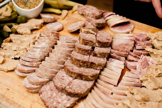 Meat Tray, Toronto, Ontario, Canada : Stock Photo