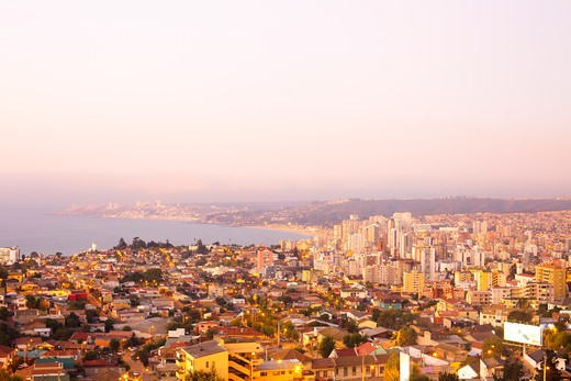 Stock Photo: 1828R-81116 Vina Del Mar, Region de Valparaiso, Chile