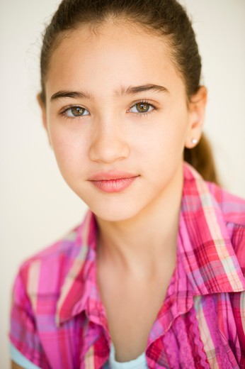 Stock Photo: 1828R-81362 Portrait of Girl