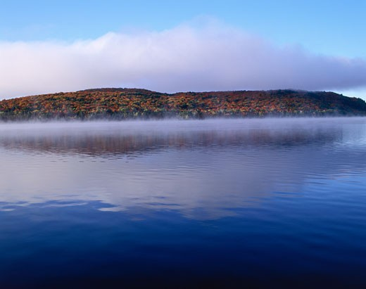 Lake of Two Rivers, Algonquin Provincial Park, Ontario, Canada    : Stock Photo