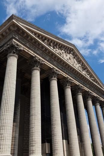 Stock Photo: 1828R-83751 Eglise de la Madeleine, 8th Arrondissement, Paris, Ile-de-France, France