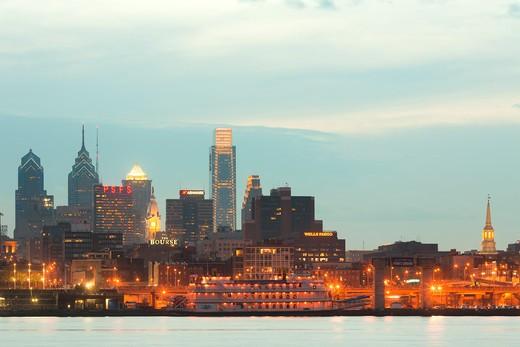 Skyline, Philadelphia, Pennsylvania, USA : Stock Photo