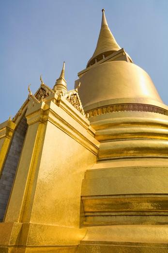 Phra Si Rattana, Wat Phra Kaew, Grand Palace, Phra Nakhon, Bangkok, Thailand : Stock Photo
