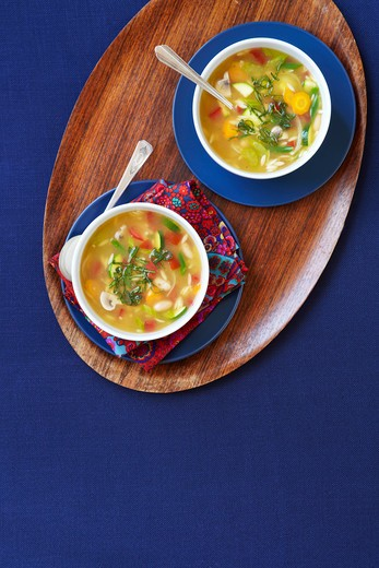 Pistou Soup : Stock Photo