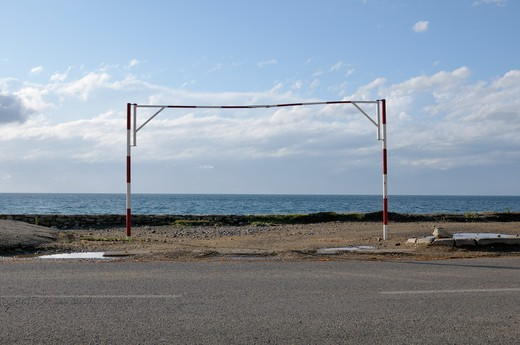 Barrier, Corse, France : Stock Photo