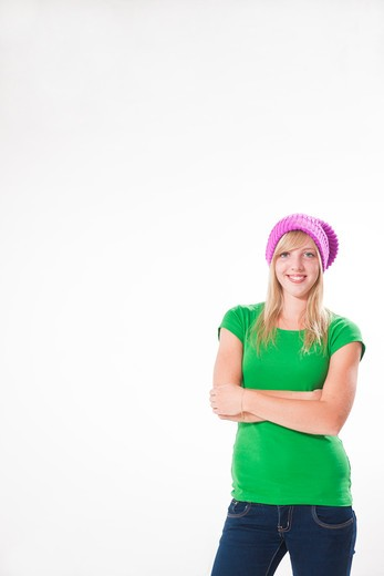 Stock Photo: 1828R-85754 Portrait of Teenage Girl