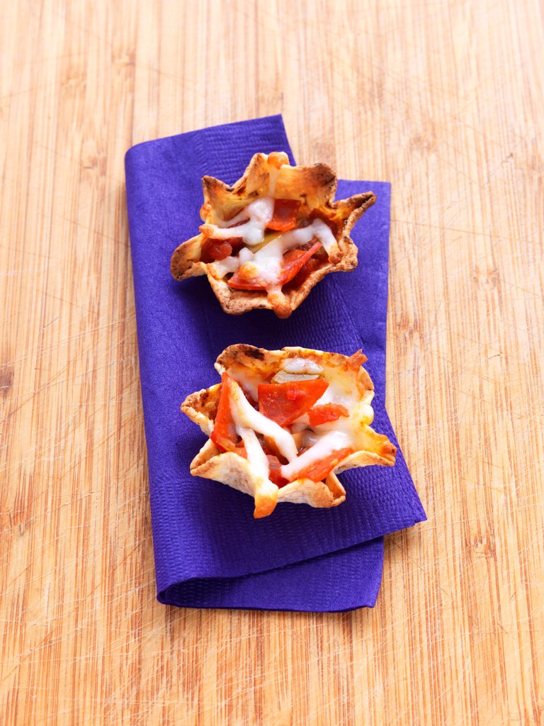 Appetizers on Cutting Board : Stock Photo