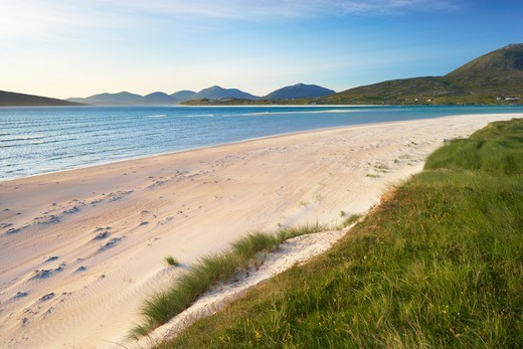 Coastal Scenic, Sound of Taransay, Isle of Harris, Outer Hebrides, Scotland : Stock Photo
