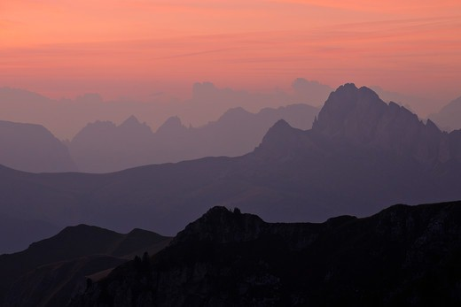 Stock Photo: 1828R-88321 Dolomites, Italy