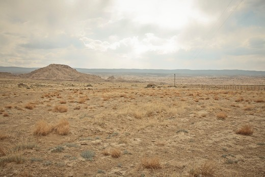 Stock Photo: 1828R-88422 Two Grey Hills, Navajo Reservation, New Mexico, USA