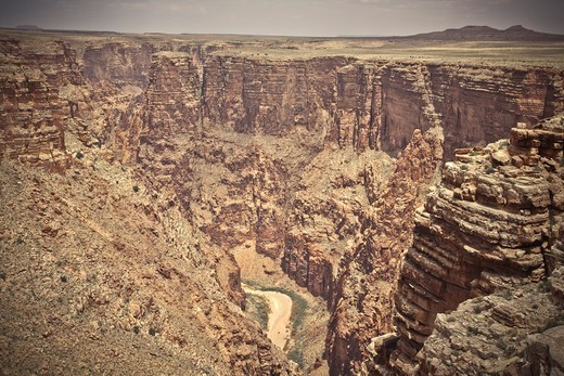 Little Colorado River Gorge, Arizona, USA : Stock Photo
