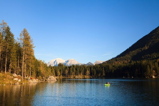 Lake Hintersee, Bavaria, Germany : Stock Photo