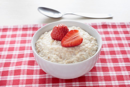 Stock Photo: 1828R-88860 Bowl of Porridge