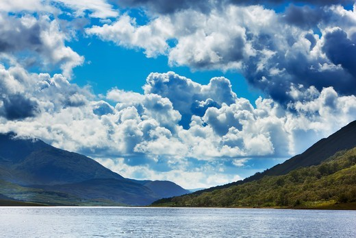 Stock Photo: 1828R-88894 Loch Etive, Argyll and Bute, Scottish Highlands, Scotland