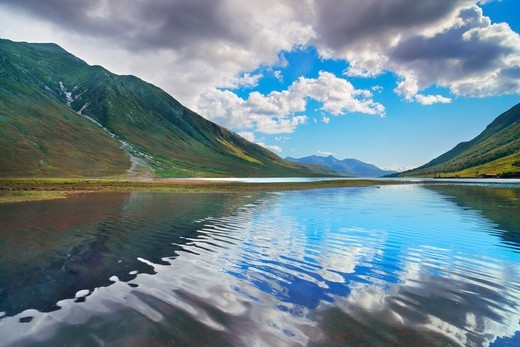 Stock Photo: 1828R-88895 Loch Etive, Argyll and Bute, Scottish Highlands, Scotland