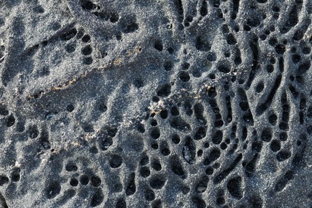 Stock Photo: 1828R-88942 Stone with Crack, Nanortalik, Kujalleq, Kejser Franz Joseph Fjord, Greenland