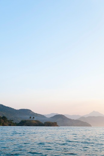 Stock Photo: 1828R-88984 Scenic View of Mountains near Paraty, Costa Verde, Brazil