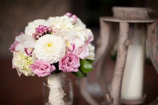 Stock Photo: 1828R-89148 Bouquet of Flowers at Wedding, Toronto, Ontario, Canada