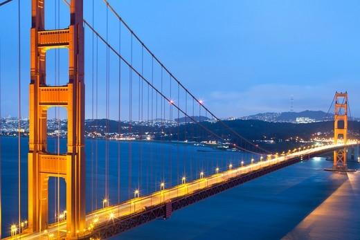 Golden Gate Bridge, San Francisco, California, USA : Stock Photo