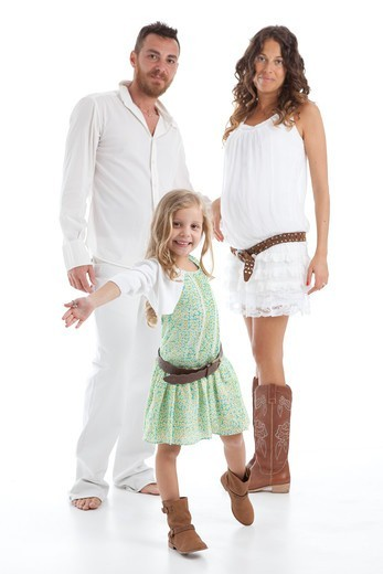 Stock Photo: 1828R-90035 Portrait of Family