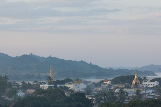 Stock Photo: 1828R-90120 Pyay, Bago Region, Myanmar