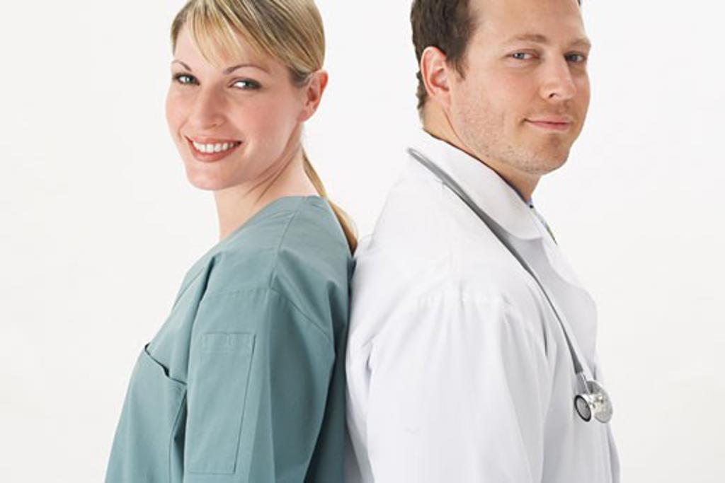 Stock Photo: 1828R-9819 Portrait of Doctors