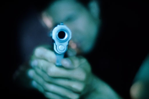 Gunpoint : Stock Photo