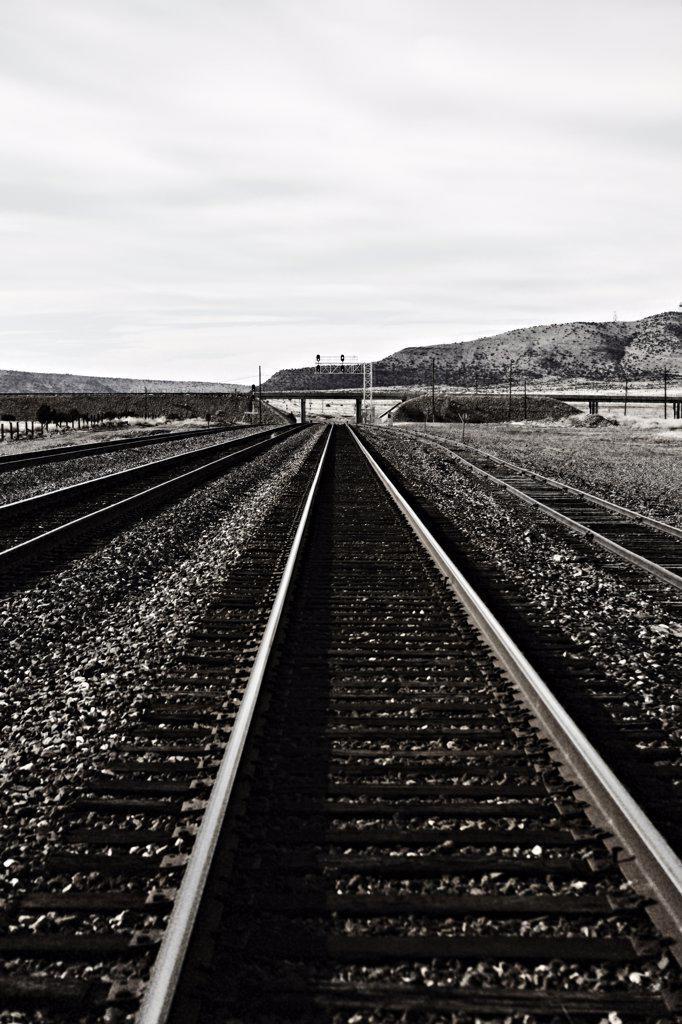 Train Track, Arizona, USA : Stock Photo