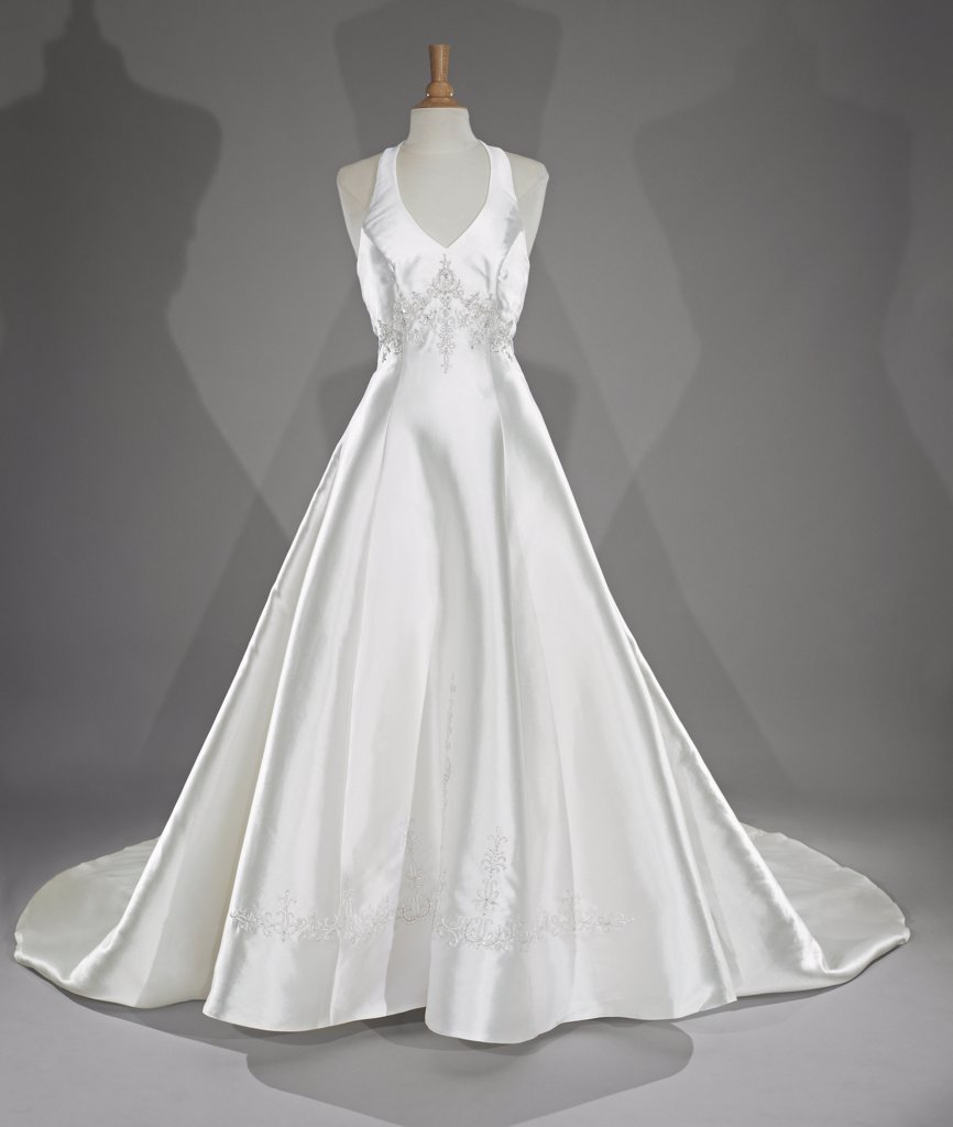 Stock Photo: 1838-12366 Classic Wedding Dress