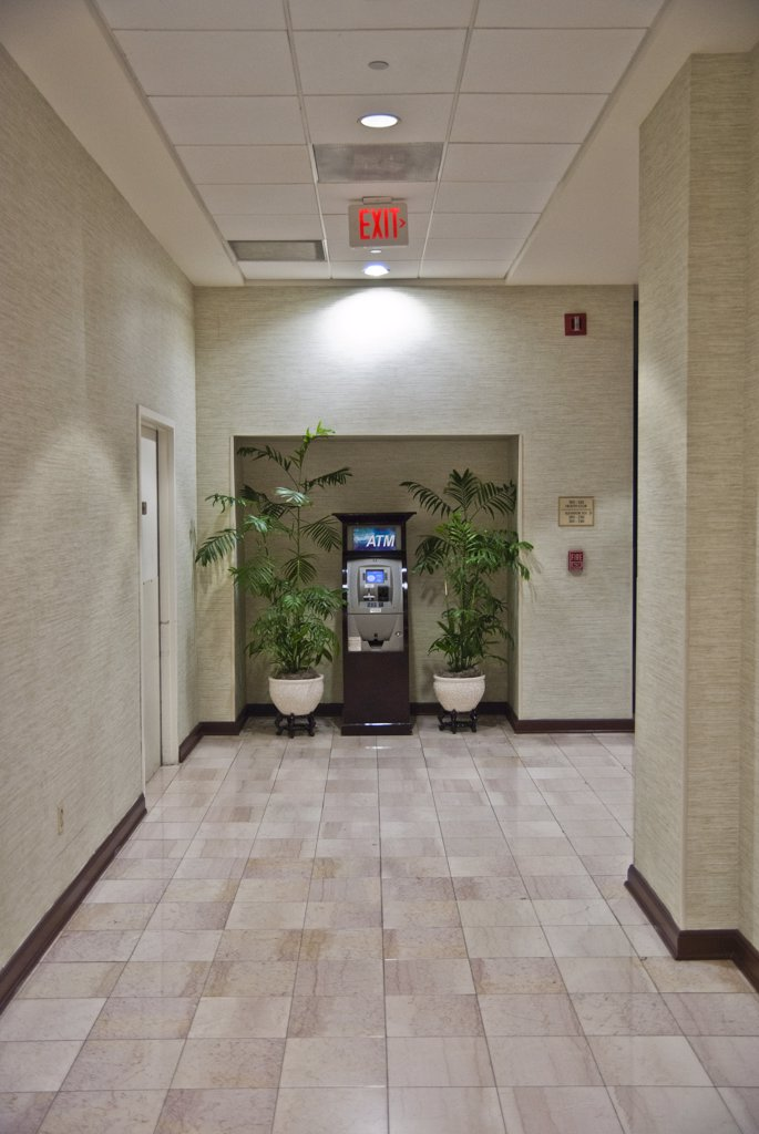Stock Photo: 1838-12613 ATM in Hotel Hallway