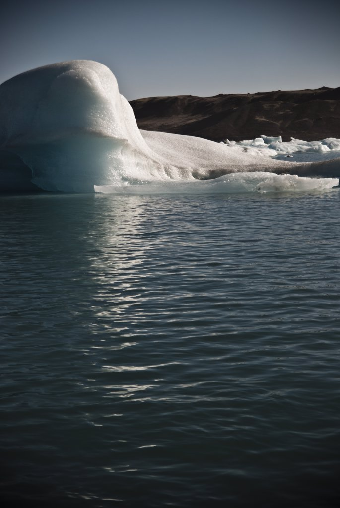 Stock Photo: 1838-12759 Icebergs in Jokulsarlon Glacial Lake, Iceland