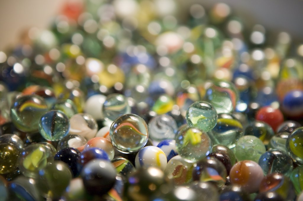Stock Photo: 1838-13024 Marbles
