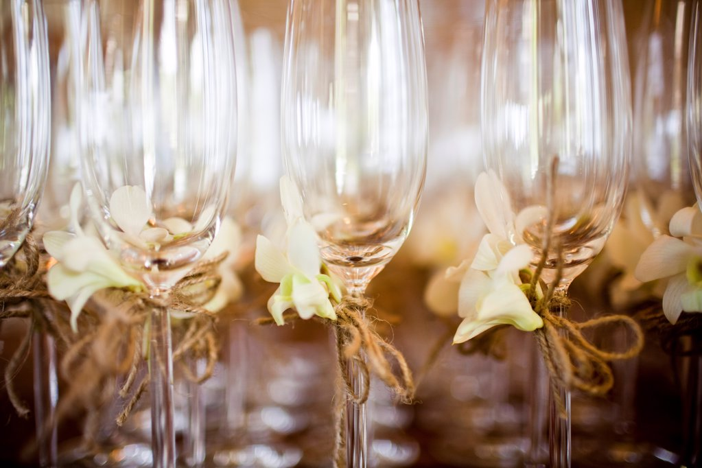 Stock Photo: 1838-13612 Champagne Flutes