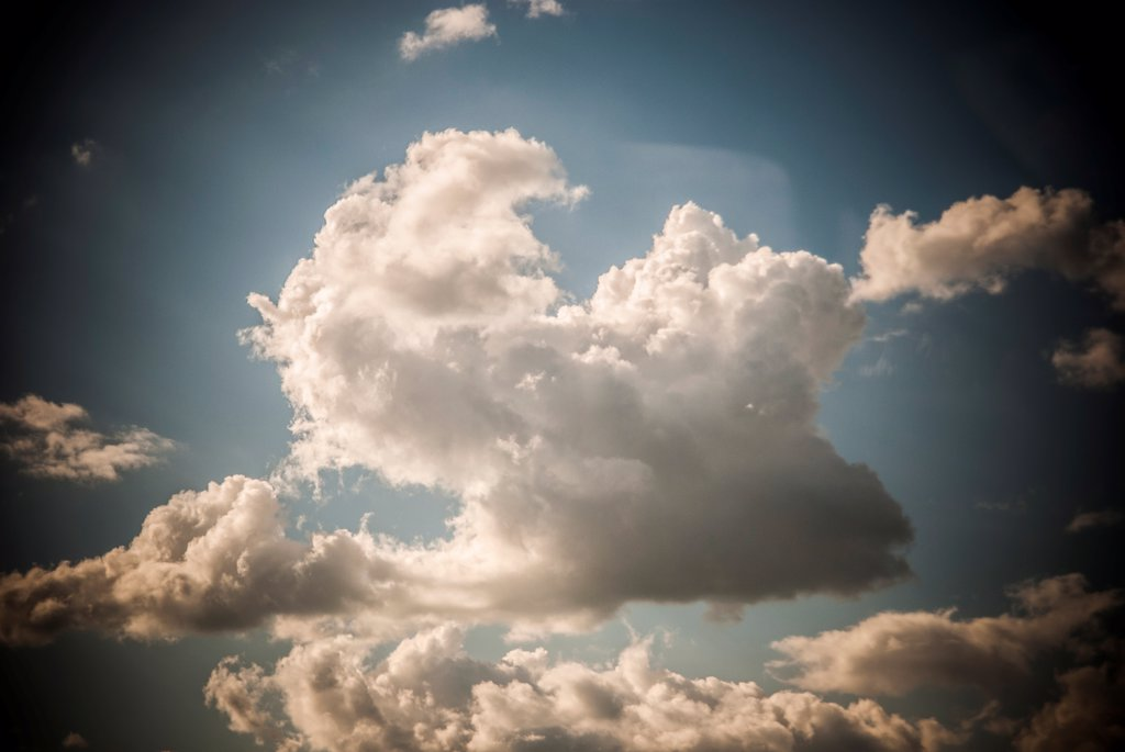 Stock Photo: 1838-13948 Dramatic Clouds in Sky