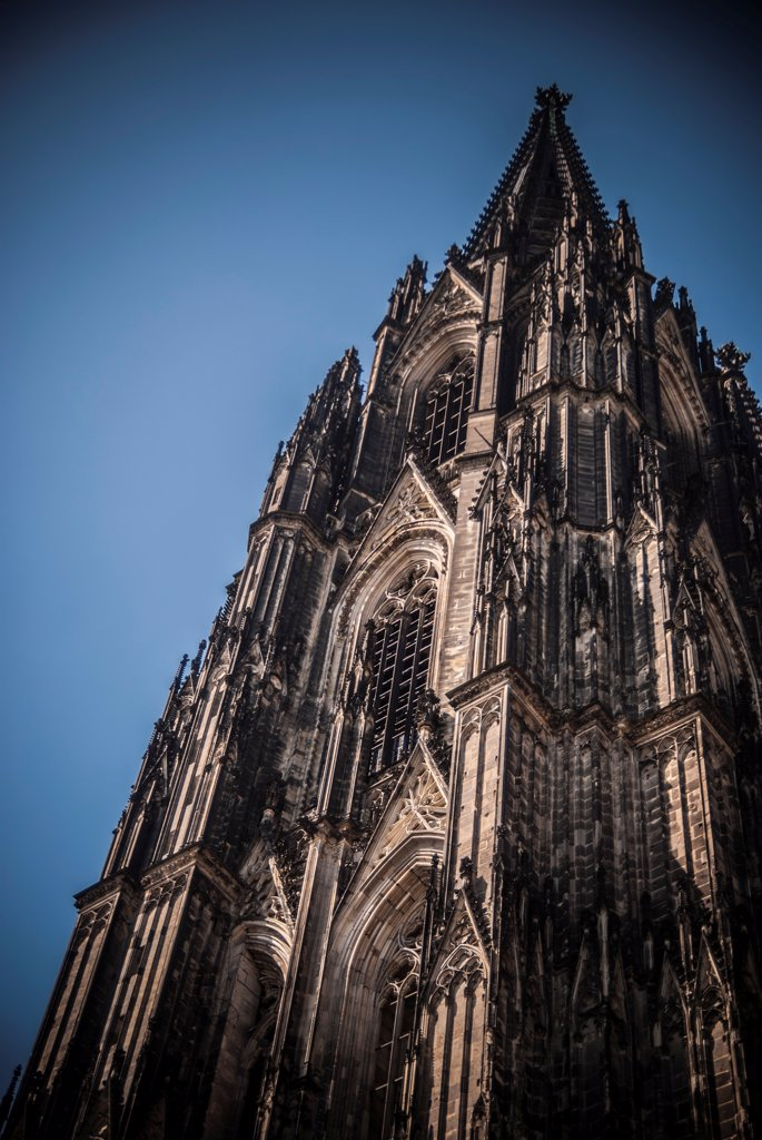 Stock Photo: 1838-13951 Cologne Cathedral Detail, Germany