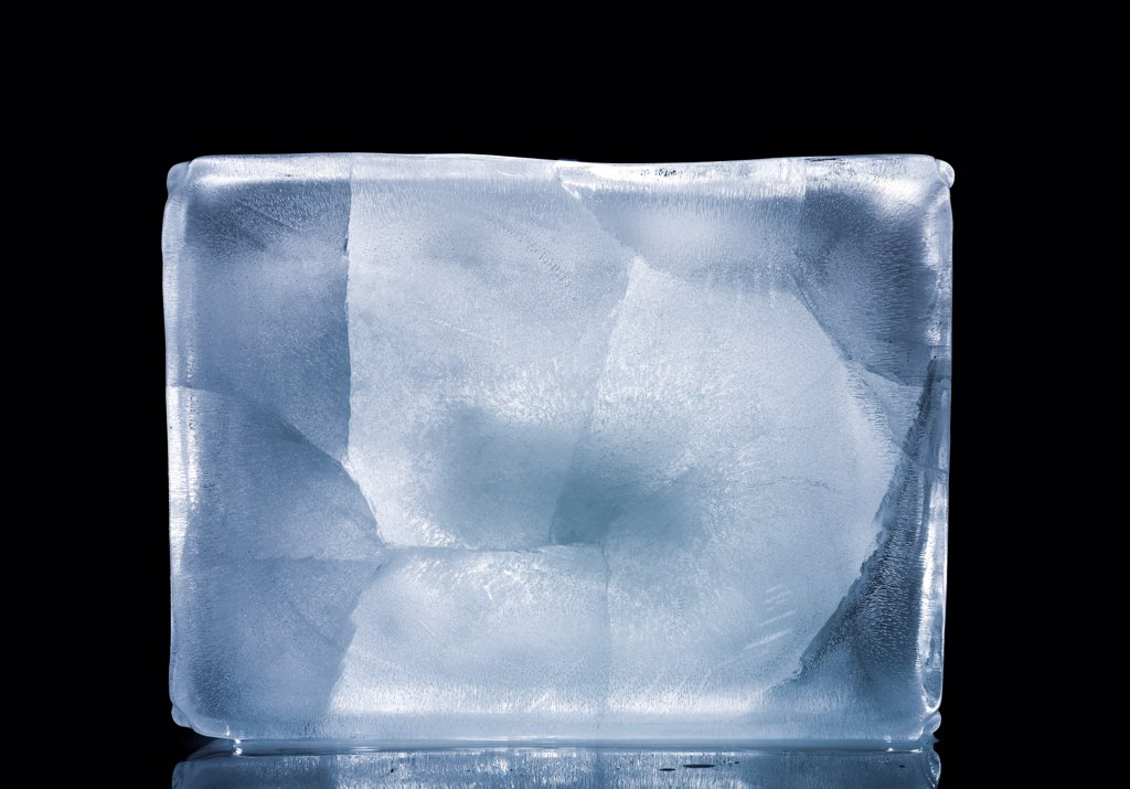 Stock Photo: 1838-14076 Block of Ice