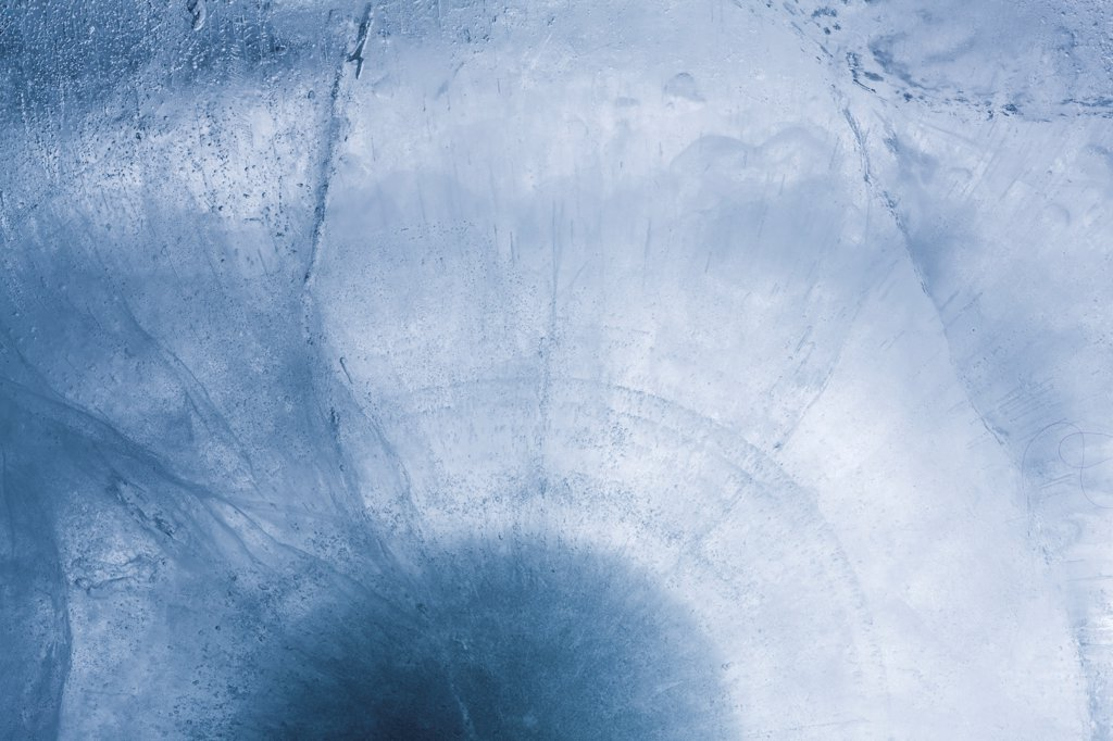 Stock Photo: 1838-14082 Block of Ice, Close Up, Abstract