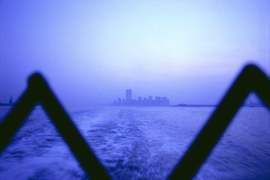 Staten Island Ferry View : Stock Photo