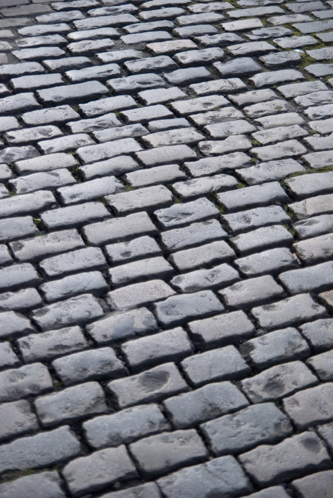 Cobblestone Street : Stock Photo