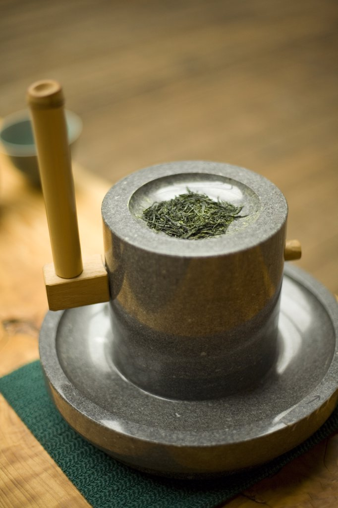 Stock Photo: 1838-1853 Tea Grinder