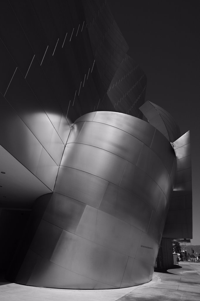 Disney Concert Hall, Los Angeles : Stock Photo