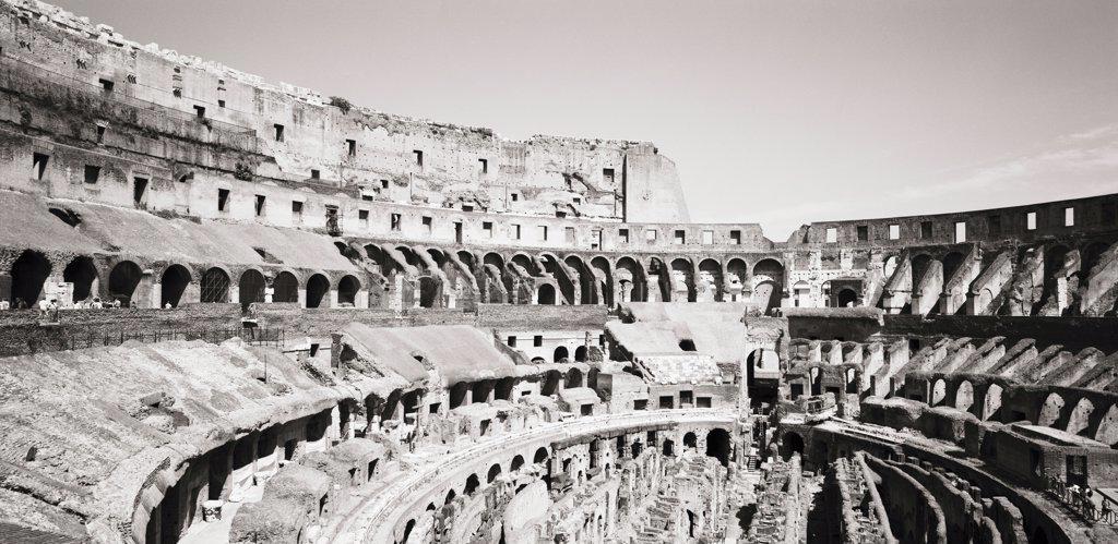 Stock Photo: 1838-2562 Ruins of Roman Coliseum