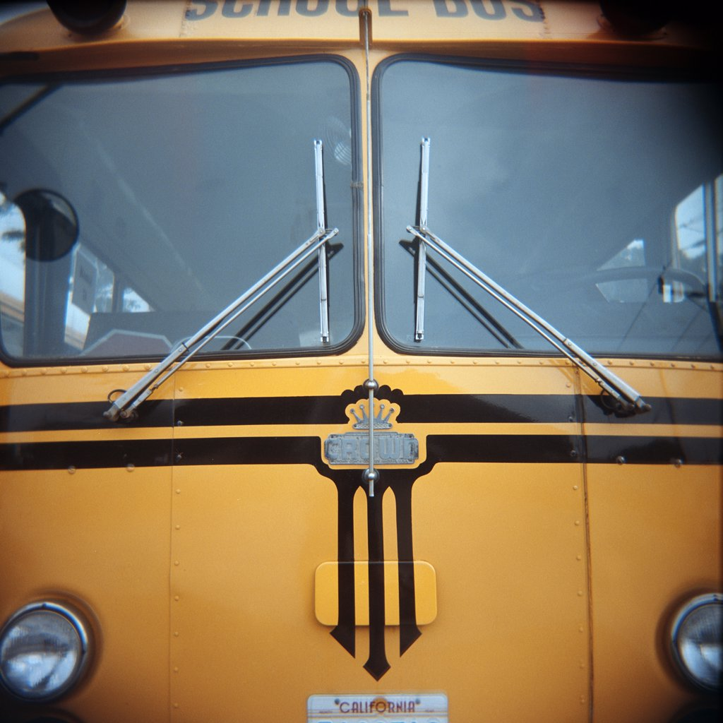 Stock Photo: 1838-2642 School Bus